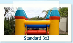 Standard 3x3 Ages: 1 - 7 Size: 3 x 3m R400 Tuesday to Thursday R400 Friday to Monday