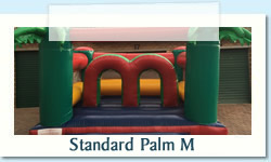 Standard Palm M Ages: 1 - 8 Size: 4 X 6m R450 Tuesday to Thursday R450 Friday to Monday
