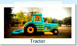 Tractor Ages: 2 - 12 Size: 5 X 9m R700 Tuesday to Thursday R700 Friday to Monday