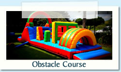 Obstacle Course Ages: 2 - 12 Size: 3 X 10m R650 Tuesday to Thursday R650 Friday to Monday