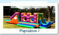Playstation 1 Ages: 2-12 years Size: 4 X 9m R600 Tuesday to Thursday R600 Friday to Monday
